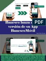 Juan Carlos Escotet - Banesco Lanza Nueva Versión de Su App BanescoMóvil