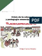 crisis de la educación y pedagogía emancipadora