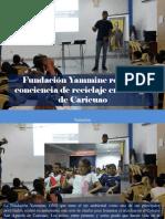 Yammine - Fundación Yammine Refuerza Conciencia de Reciclaje en Colegio de Caricuao