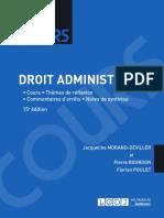 Partiels 2018 Lextenso Étudiant Jour 1 - L2 - Droit administratif (LGDJ - Cours)