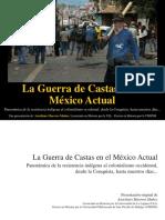 2015 10 30 La Guerra de Castas en El Mexico Actual