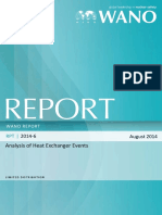 Analysis of Heat Exchanger Events