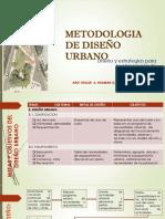 Metodologia de Diseño Urbano