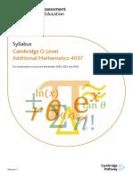 CAIE Syllabus - Add Maths.pdf