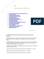 Leyes de Bolivia