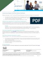 Premier Certification Changes Announcement(1)