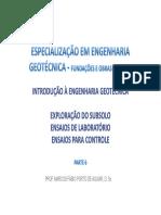 Adensamento DNER IE005 94