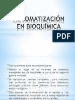 Automatización en Bioquímica