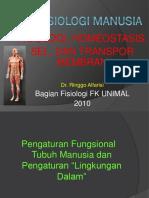 2Fisiologi, Homeostasis, Sel dan Transpor Membran.ppt