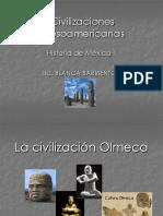 Civilizacionesmesoamericanas-HISTORIA de MEX I