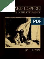 Edward Hopper the Complete Prints