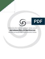 Informações Estratégicas - Ministério do Planejamento - Transição Governo 2018-2019