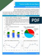 Tourism Satellite Account Report 2017