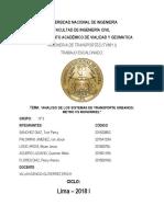 ESCALONADO FERROCARRILES