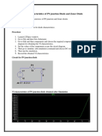 Exp3- H3-Characteristics of PN Diode and Zener Diode