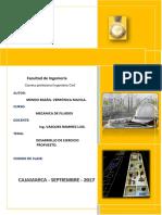 Desarrollo de Ejercicio Propuesto- Mecanica Fluidos