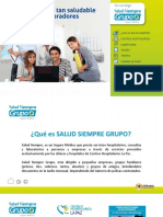 Salud Siempre Grupo 2018