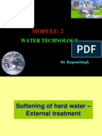 Module 1-Water Technology (Dr Rupam Singh)