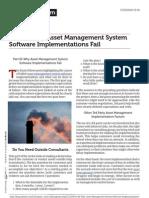 Blog.mintek.com Part III Why Asset Management System Software Implementations Fail