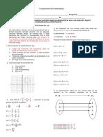 Taller Funciones de Fundamentos de Matemáticas