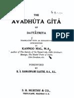 Avadhuta Gita English