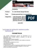 Pruebas parametricas y no parametricas - prueba de signos, aproximaciòn normal a la binomial y prueba de frank wilcoxon ejercicios desarrollados