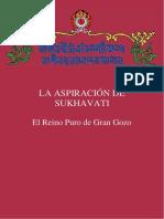 Aspiración de Sukhavati. Drikung Kagyu spanish espanol booklet