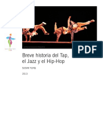 Breve Historia Del Tap, El Jazz y El Hip-hop