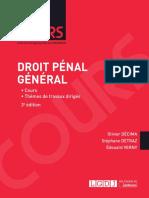 Partiels 2018 Lextenso Étudiant Jour 3 - L2 - Droit pénal général #Correction (LGDJ - Cours)