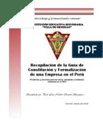 Separata de Constitución de Empresa III Trim