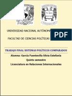Trabajo Final Sistemas Políticos Comparados