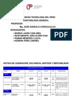 Analisis Financieros Por Periodos