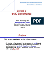 Lect08 Gm ID Sizing Method