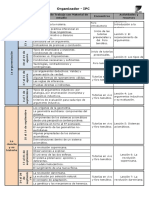 Organizador IPC 2º 2018
