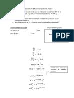 Modelo de Ecuación en Calculo Diferencial Aplicado Al Caso