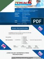 Control Preconcepcional, Obstetrico y Perinatal