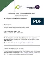 Dialnet-ElHologramaComoExperienciaArtistica-5524896