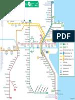 Dublin Train-Tram Map ENGLISH