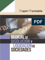 Manual Liquidacion Disolucion Sociedades