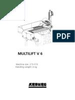 Arburg Multilift v6 Td 528442 en Gb