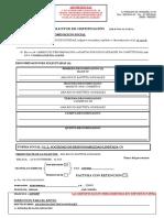 Modelo certificacion agencia tributartias