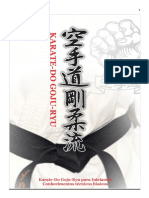 Apostila Iniciantes Gojuryu PDF