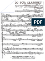 Artie Shaw - Concerto, Clarinet