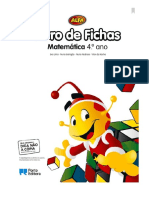 Alfa - Matemática 4º Ano - Livro de Fichas