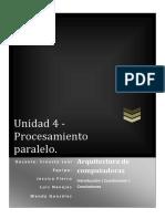 Cuestionarioparalelismo u4 Navejas Gonzalez Fierro
