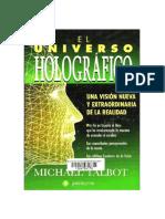 El Universo Holografico - Michael Talbot.pdf