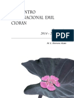 Emil Cioran - Memorias Cioran ISSN.pdf