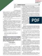 DECRETO SUPREMO No. 264-2018-EF