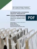 DANTAS_Materiais Para a Economia Criativa_Pesquisa Em Design_Livro_USP