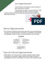 Que Es La Cultura Organizacional